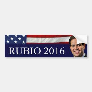 Rubio 2016 bumper sticker