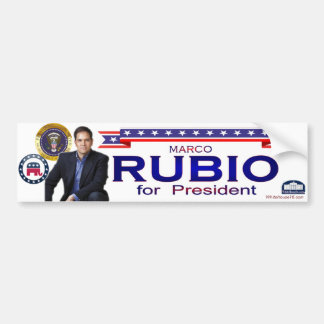 Rubio for President Bumper Sticker