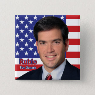 Rubio For Senate 2 Inch Square Button