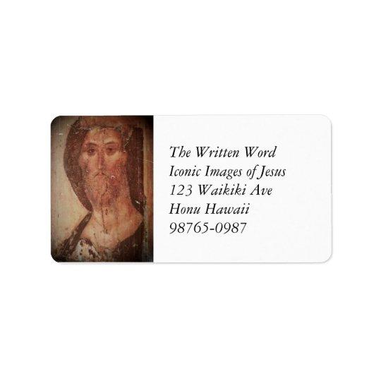 Rublev Jesus Christ Label