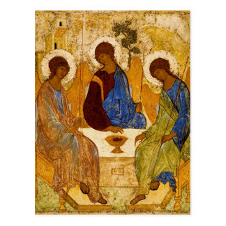 Rublev Trinity at the Table Postcard