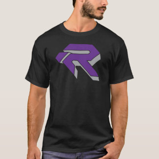 RUBY 3D - PURPLE & GREY T-Shirt