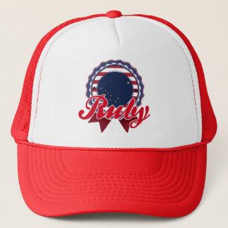 Ruby, AK Trucker Hat