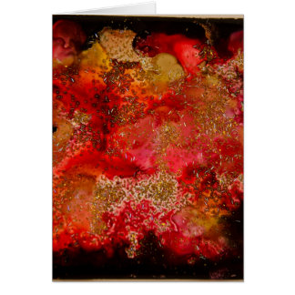 Ruby and Onyx Geode Collection Card