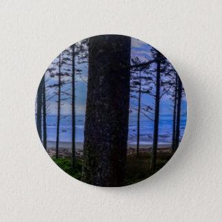 Ruby Beach sea shore 2 Inch Round Button