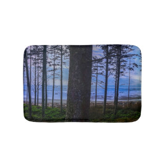 Ruby Beach sea shore Bath Mat