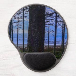 Ruby Beach sea shore Gel Mouse Pad