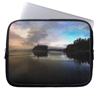 Ruby Beach Sunset | Olympic NP Laptop Computer Sleeves