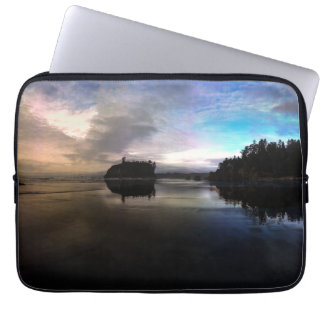 Ruby Beach Sunset | Olympic NP Laptop Sleeves