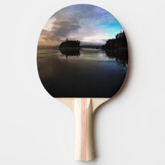 Ruby Beach Sunset | Olympic NP Ping Pong Paddle