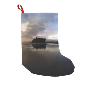 Ruby Beach Sunset | Olympic NP Small Christmas Stocking