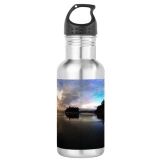 Ruby Beach Sunset Reflection 532 Ml Water Bottle