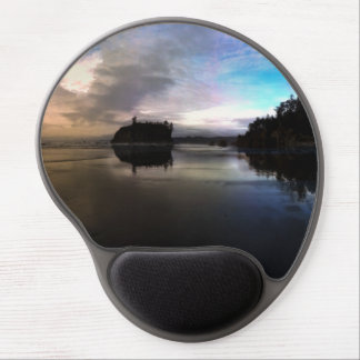 Ruby Beach Sunset Reflection Gel Mouse Pad