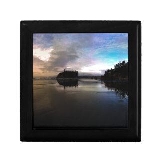 Ruby Beach Sunset Reflection Gift Box