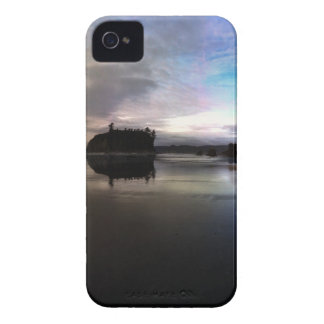 Ruby Beach Sunset Reflection iPhone 4 Case-Mate Cases