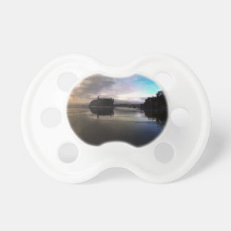 Ruby Beach Sunset Reflection Pacifier