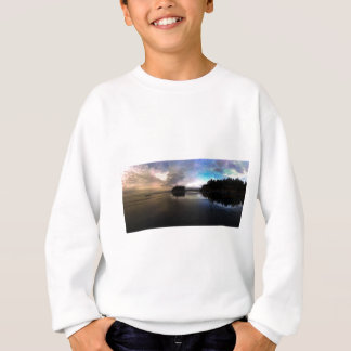 Ruby Beach Sunset Reflection Sweatshirt