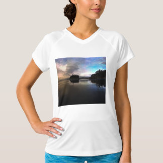 Ruby Beach Sunset Reflection T-Shirt