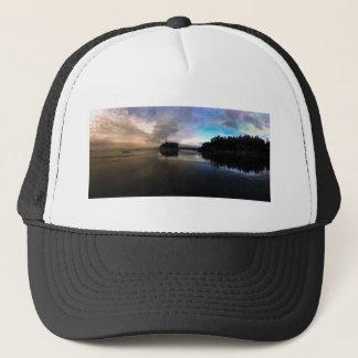 Ruby Beach Sunset Reflection Trucker Hat
