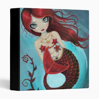 Ruby Big Eye Mermaid Binder