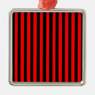 Ruby Black Metal Ornament