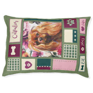 Ruby Cavalier DOG BED