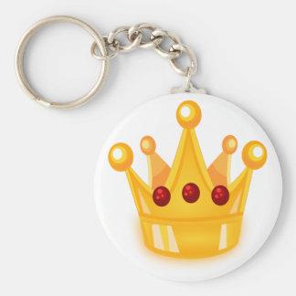 Ruby Crown Keychain
