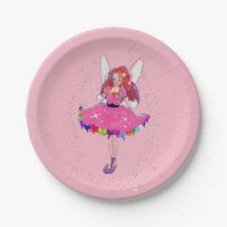 """Ruby Custom Paper Plates 7"""" 7 Inch Paper Plate"""