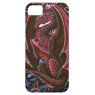 Ruby Dragon BarelyThere iPhone 5 Cases
