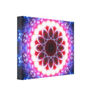 Ruby Energy Portal Canvas Print