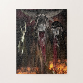 Ruby Falls Horror Art Jigsaw Puzzle