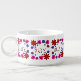 RUBY Flowers Bowl