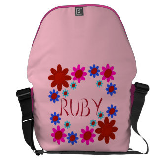 RUBY Flowers Commuter Bag