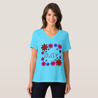 RUBY Flowers T-Shirt