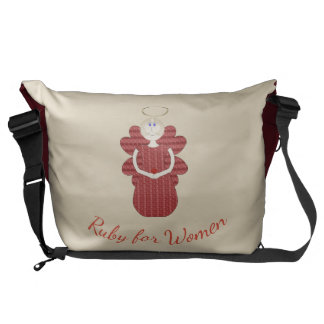 Ruby for Women Red Angel Commuter Bag