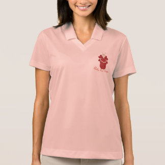 Ruby for Women Red Angel Polo Shirt