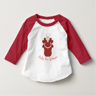 Ruby for Women Red Angel T-Shirt