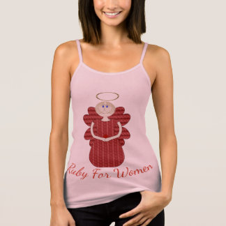 Ruby for Women Red Angel Tank Top