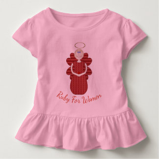 Ruby for Women Red Angel Toddler T-shirt