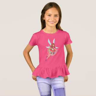 Ruby Girls' Ruffle T-Shirt