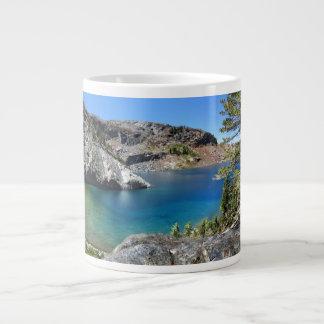 Ruby Lake - John Muir Trail - Sierra Nevada Large Coffee Mug