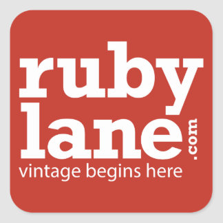 Ruby Lane Color Block Sticker