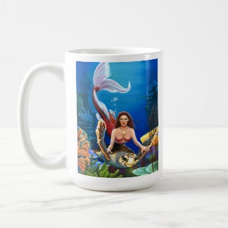 Ruby Mermaid Coffee Mug