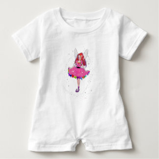 Ruby Party Dress Baby Romper