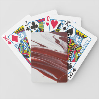 Ruby Pillars Bicycle Playing Cards