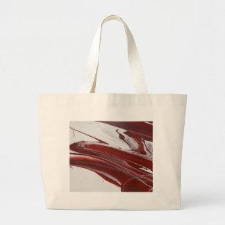 Ruby Pillars Large Tote Bag
