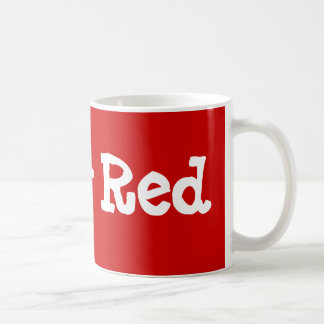 Ruby Red Coffee Mug