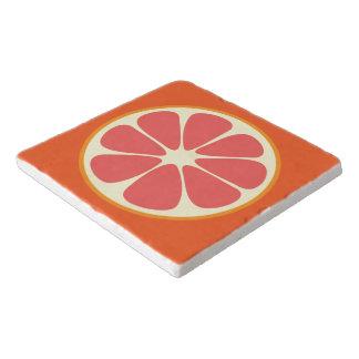 Ruby Red Grapefruit Juicy Sweet Citrus Fruit Slice Trivet