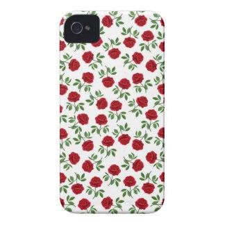 Ruby Red Tea Roses Blackberry Bold Case