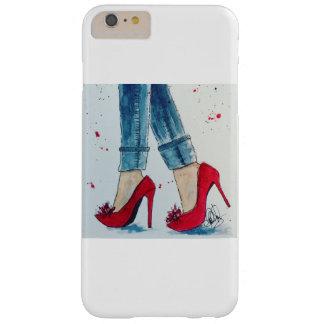 Ruby Reds & Denim Watercolor iPhone 6/6s Plus Case
